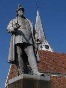Varde Marktplatz Statue